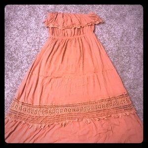 Strapless 2x dress
